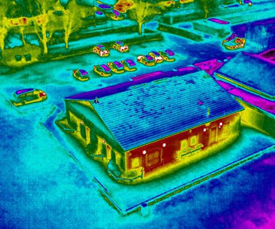 Aerial Thermal Imaging Survey - Hertfordshire